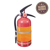 Fire Ext Cocktail Shaker