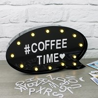 Magnetic Marquee Lightbox W/Letters