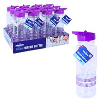 750ml Lilac Jewelled Drinks Bottle