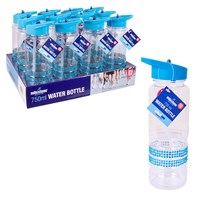 750ml Blue Jewelled Drinks Bottle
