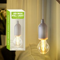 Bulb On A Rope With Warm White LED