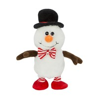 Talk Back Walking Snowman