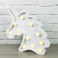 Large Unicorn Marquee Light