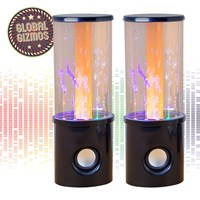 Fountain Speaker With Light Tube