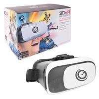 Deluxe 3D VR Glasses - White