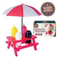 BBQ Sauce Set with Umbrella