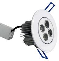 5w(4x1.25w)Rnd Wht LED 6400k