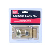 60MM Cylinder Door Lock Supplied With 3 Keys