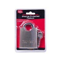 60mm Heavy Duty Shackle Protected Padlock