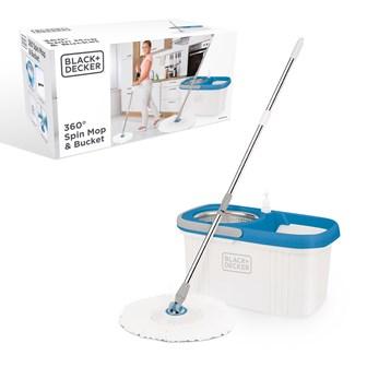 B+D Spin Mop & Bucket