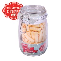 1ltr Glass Airtight Container