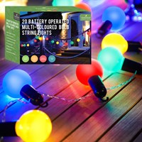 20 LED Multi-Coloured Party Lights