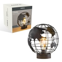 Globe Cage LED Light
