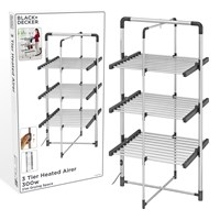 B+D 3 Tier Heated Airer