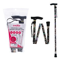 Floral Folding Walking Pole