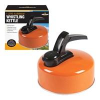 1L Aluminium Whistling Camping Kettle