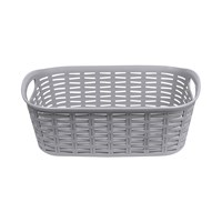 Rattan Laundry Basket - 3 Litre - Grey