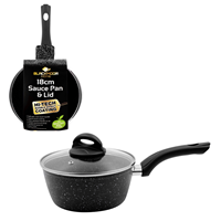 18cm Blackmoor Home Sauce Pan & Lid