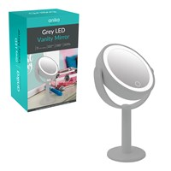 LED Vanity Mirror - Grey