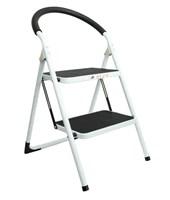 2 Step Ladder w/Rubber Grip
