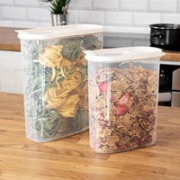 2 Pack Oval Containers