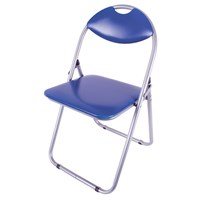 Paris Fold Up Chair Blue