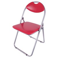 Paris Fold Up Chair-Red