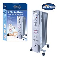 Silentnight 7-Fin 1.5Kw Oil Filled Radiator
