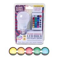 7.5W Remote Control Colour Changing Bulb BC