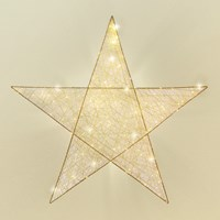 Copper Wire Star Light