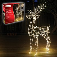 250 LED Light Up Reindeer - 115cm Tall