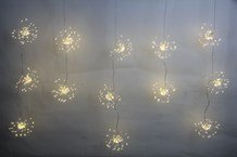 520LED Copper Wire Firework Ball Curtain Light -WW
