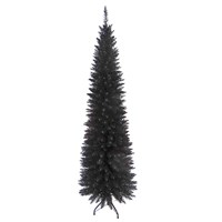 6FT Black Slim Line Tree