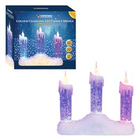 3 LED Water&Glitter Candle Bridge/ Colour Changing