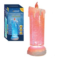 24cm Colour Changing LED Flickering Water Candle