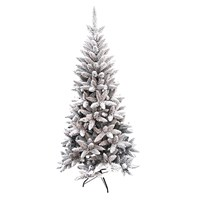 6FT Flocked Pine Tree