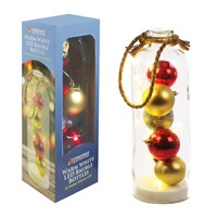 31cm 12 LED Bauble Bottle