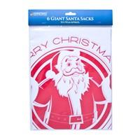 6pc Giant Gift Sacks