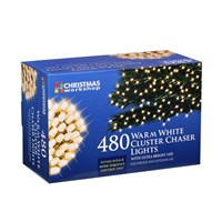 480 LED Warm White Chaser Cluster Light