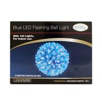 100 LED Blue Blossom Ball