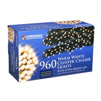 960 LED Warm White Chaser Cluster Light