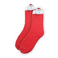 Ladies 3D Santa Xmas Socks