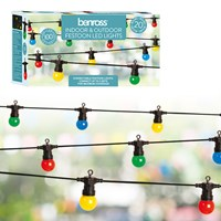 20 Connectable Bulb String Light - Multi Colour
