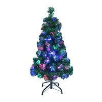 90cm/3ft Green Fibre Xmas Tree