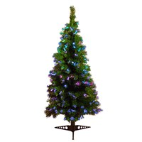 150cm/5ft Green Fibre Xmas Tree