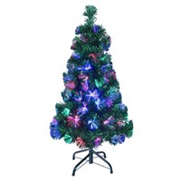180cm/6ft Green Fibre Xmas Tree