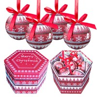 14pc Nordic Decoupage Bauble