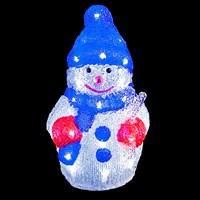 30cm Acrylic Snowman