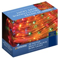 20m Multi-Coloured Chaser Rope Light