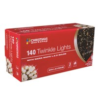 140 LED Twinkle Chaser -W.White